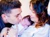 doğum sonrası aile fotoğrafları
