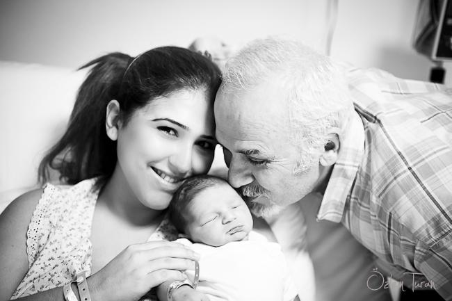 Doğum fotoğrafçısı Özlem Turan